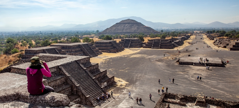 Meksika-4*Teotihuacan*Pramitler