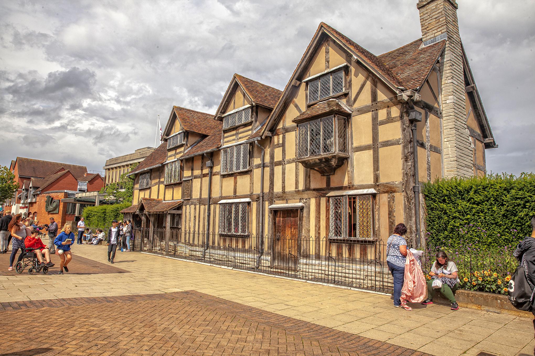 Stratford Upon Avon- W. Shakespeare'in doğduğu ev