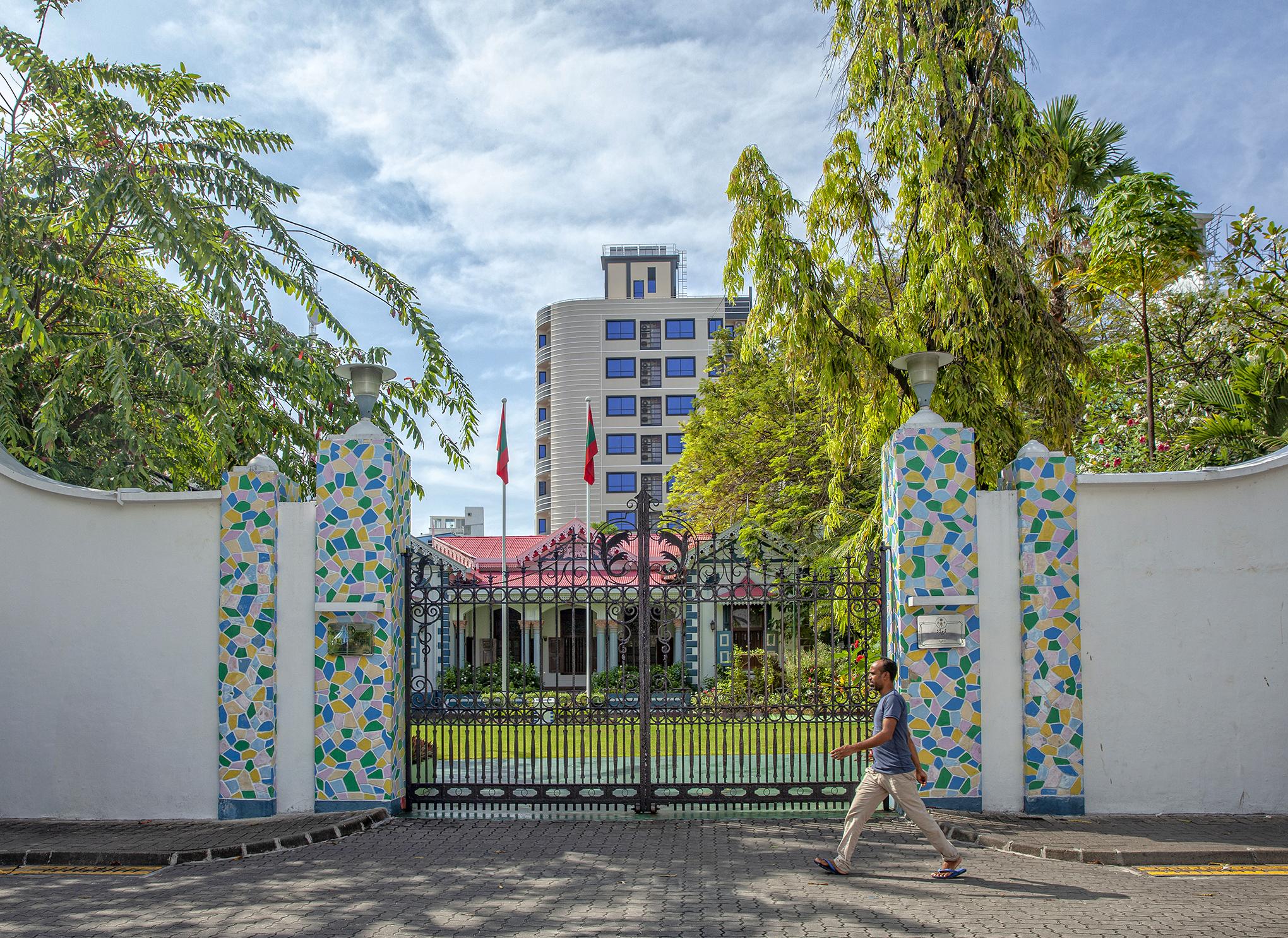 Maldivler - Mulee'aage Başkanlık Sarayı