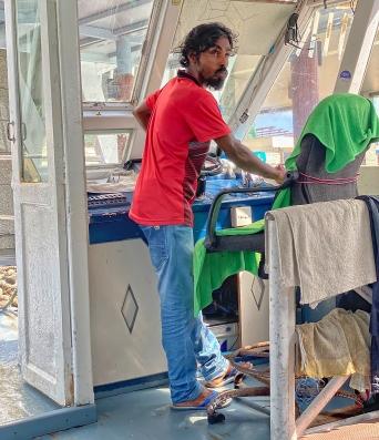 Maldiv'li kaptan