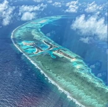 Maldivler- Hint Okyanusunda bir Atol