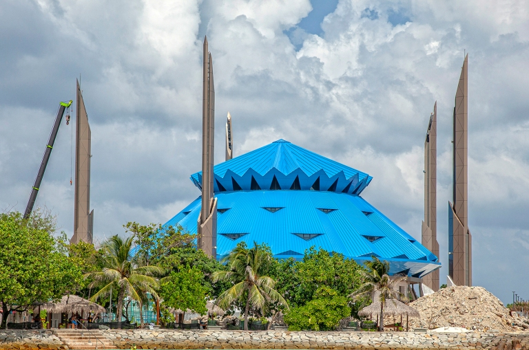 Maldivler-Male- Selman Bin Abdulaziz Camii
