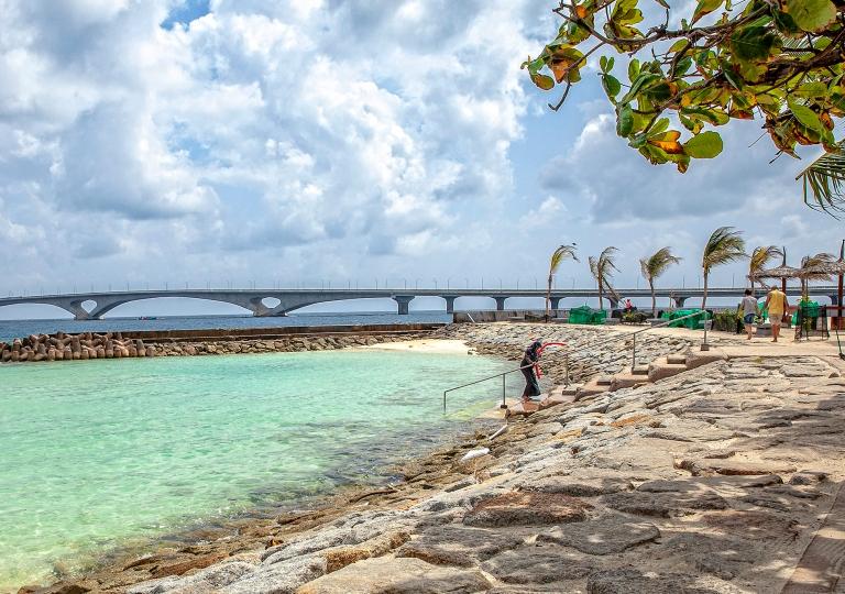 Male-Artificial Beach