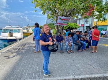 Maldivler- Male'de ben