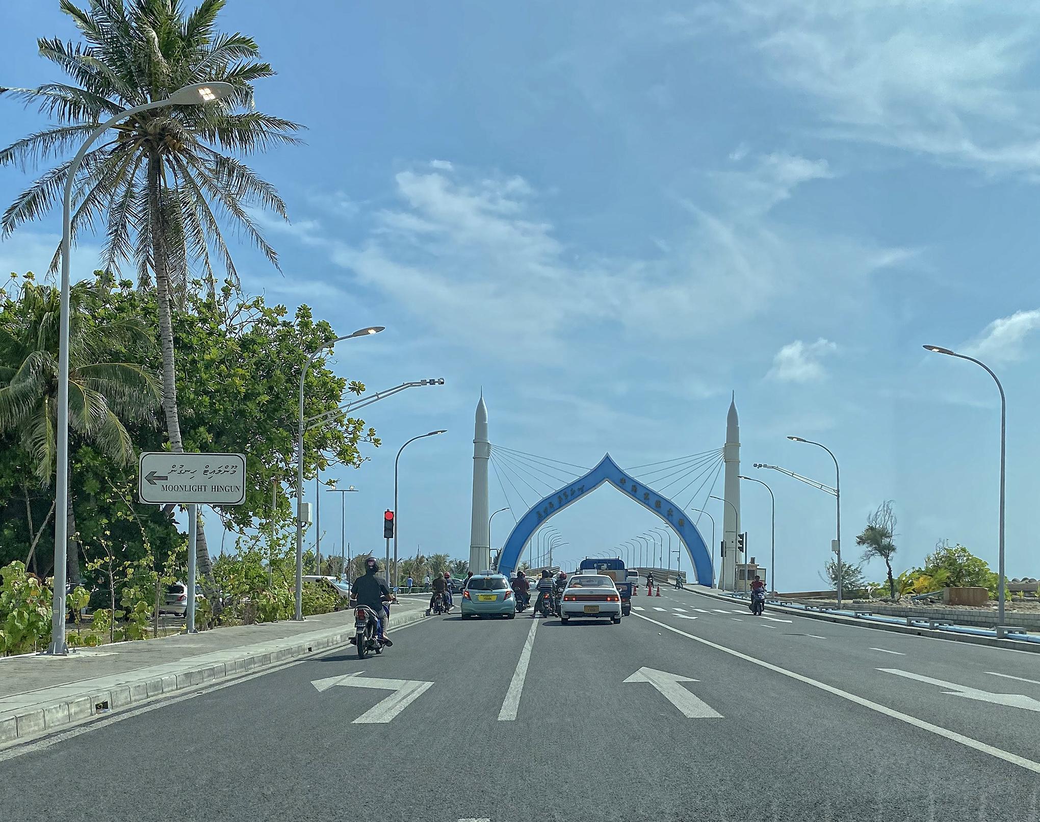 Male- Sinemale köprü girişi