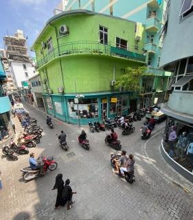 Male- Terminal Cafe'den manzara